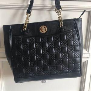 Anne Klein Black Handbag